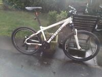 GENTS CARREA MOUNTAIN BIKE 18 GEARS LOCK OFF FORKS RIDES VERY WELL CLEAN CONDITION