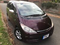 TOYOTA ESTIMA AERAS, AUTOMATIC, LPG,Extremely LOW MILES only 75k miles, NICE Drive....Bargain !!