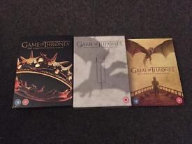 Game of Thrones Seasons 2, 3 and 5 DVD