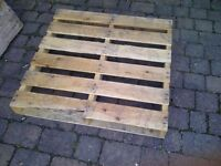 Free wooden pallets (4 available)