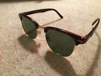 Used Ray-Ban Clubmaster Sunglasses
