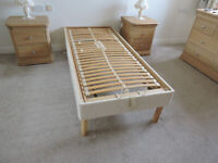Single Adjustable/Lumber Support Bed