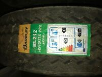 Truck/trailer tyres , brand new I was running them on my trip axle low loader trailer