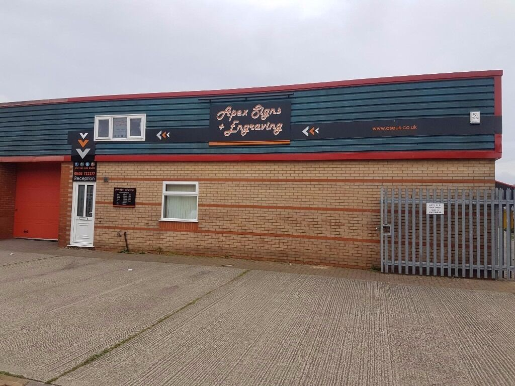 Two Floor Industrial Unit Norwich, 1240 + 613ft (1853ft Total)