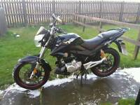 Lexmoto zsx 125cc 14 plate for sale or swap