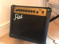 Guitar amplifier 10 Watt with reverb, made by Park, designed by Marshall!!