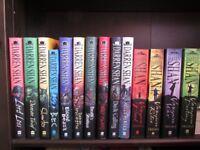 Darren Shan The Demonata series and The Saga of Darren Shan (Vampire) series