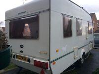 Touring caravan~ Abi Sprinter 2001, 5 berth, light weight