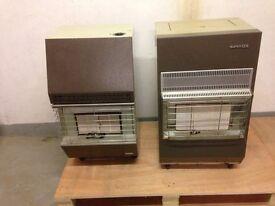 2 gas heaters