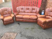 Italian leather suite