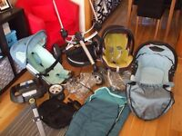 QUINNY BUZZ 3 WITH LOT OF EXTRAS