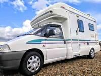 Fiat Scudo Auto-Trail tracker 2 berth motorhome