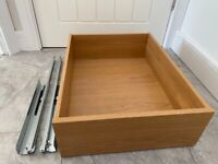 IKEA KOMPLEMENT Drawer OAK Effect 50x58 cm - 15 Available