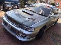 SUBARU IMPREZA WRX STi VERSION 3 EXTREMELY LOW MILEAGE HIGHLY MODIFIED JAP IMPORT