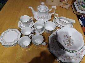 Eternal Beau china-Tea-milk-sugar-dinner