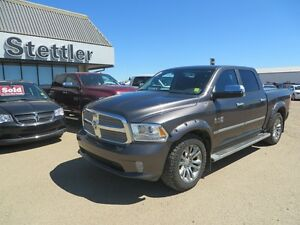 2014 RAM 1500 Longhorn 4X4 HEATED/VENTED LEATHER SEATS!