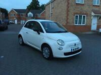 2011 FIAT 500 POP TAX £0 ,12 MONTH MOT ,FULL SERVICE HISTORY LOW MILEAGE FULL HPI CLEAR ECO MODE