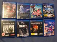 Ps vita games / memory card