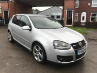 2007 VOLKSWAGEN GOLF GTI TURBO SEVICE HISTORY HPI CLEAR £1995