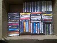 Assorted Audio Cassette Tapes For Sale