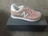 Brand new ladies 574 new balance trainers size 6