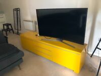 TV Unit - Yellow - 2 Years Old - Good As New