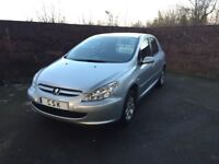 Peugeot 307 1.6 Automatic, low mileage Full service history