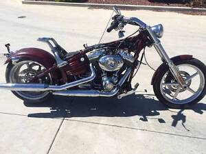 HARLEY DAVIDSON SOFTAIL ROCKER 04/2008 MODEL   PROJECT MAKE OFFER Campbellfield Hume Area Preview