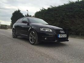 Audi A3 S Line Black Edition TDI 5 Door