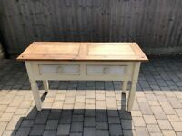 Shabby Chic Table with draws