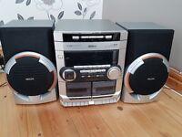 Phillips HIFI Stereo System 3x CD changer /Cassette / Aux / Tuner