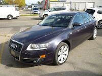 2006 Audi A6 3.2 QUATTRO NAVIGATION/LEATHER/ALLYS/SUNROOF