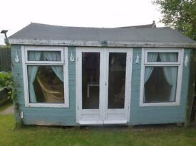 garden roomshed 12 x 8 free to uplift dismantle