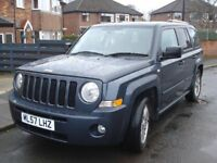 LOW MILAGE JEEP PATRIOT LIMITED CRD 5 door hatchback