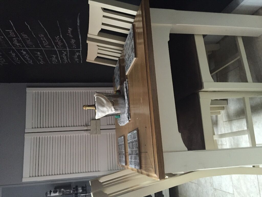 Dining Table And 6 Chairs From Bhs Excellent Condition