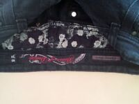 House of Denim Skinny Flare jeans.Size10/38