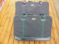 Pair Lightweight Wheeled Suitcases
