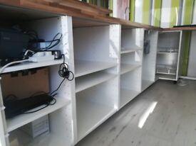 Ikea kitchen units and storage