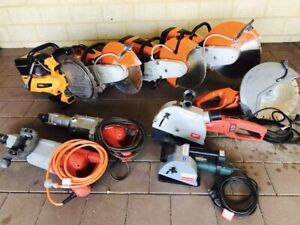 Saws & Wall Chasers & Jack Hammers Hire