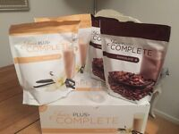 Juice Plus Complete Shakes - 2x vanilla & 2x chocolate