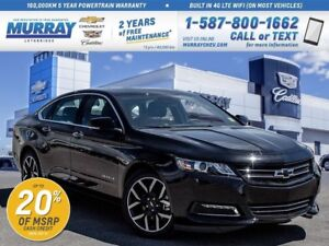2017 Chevrolet Impala **Midnight Edition!  Leather Wrapped Steer