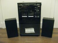 VINTAGE YOKO HI FI SYSTEM RECORD PLAYER / TWIN TAPE DECK / TUNER