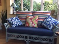 Very Attractive 2 Seater Cane Sofa