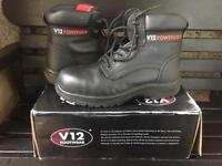 UK size 4 safety boot