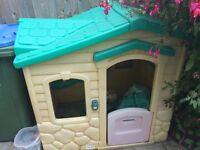 Free little tikes children's playhouse