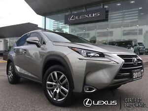 2015 Lexus NX 200t Premium Pkg Backup Cam Leather Sunroof