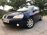 2005 Volkswagen Golf 2.0 GT TDI 140 High Spec 1 Lady Owner Full Leather Glass SunRoof Mint Example
