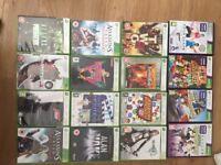 Xbox 360 Kinect sensor 12 Xbox 360 games 4 Kinect games