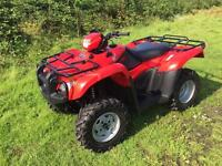 Honda Foreman 500 farm Quad Bike ATV ideal Equestrian