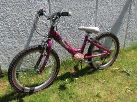 """Girls Raleigh """"Starz"""" bicycle for sale"""